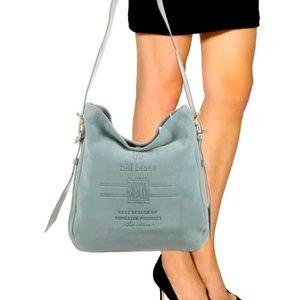 BILL BLASS Suede Ginny Hobo bag